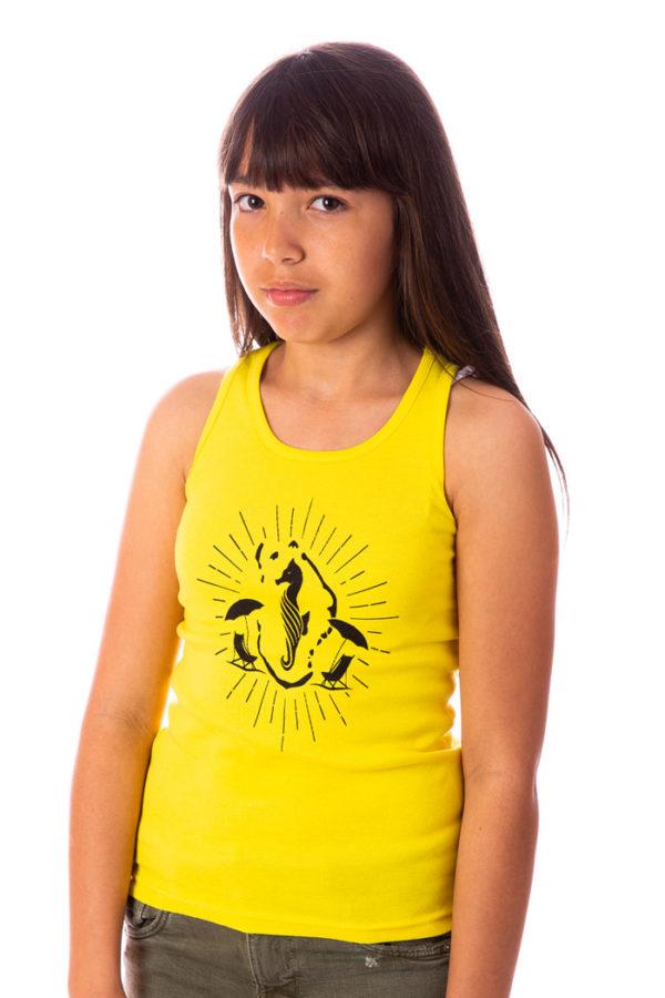 Débardeur Seahorse Mahore jaune playa mixte