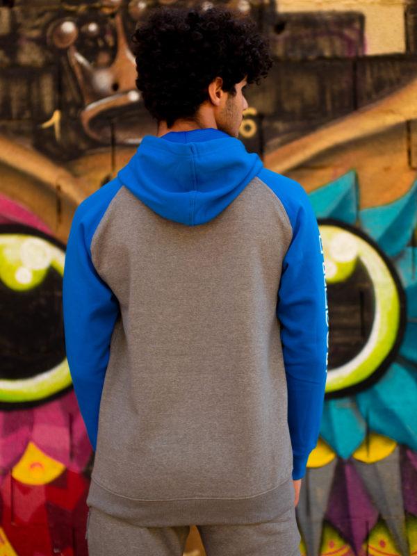 Sweat-shirt homme bleu