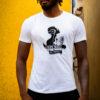 Urban music te-shirt blanc