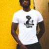 Urban musique tee-shirt Blanc